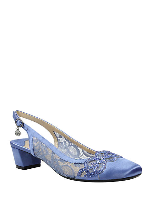 J Reneé Faleece Slingback Sandals