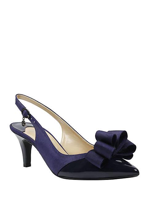 J Reneé Gabino Bow Slingback Heel