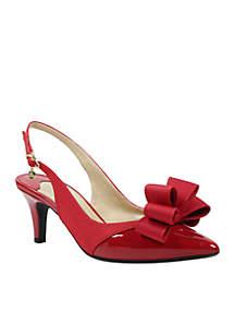 Gabino Bow Sling Heels