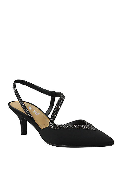 J Reneé Gelisa Pointed Toe Pumps