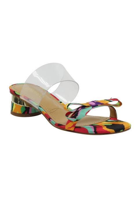 Heston Low Block Heel Sandals