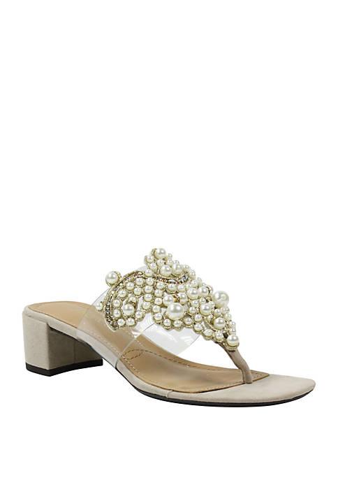 Jonette Block Sandals