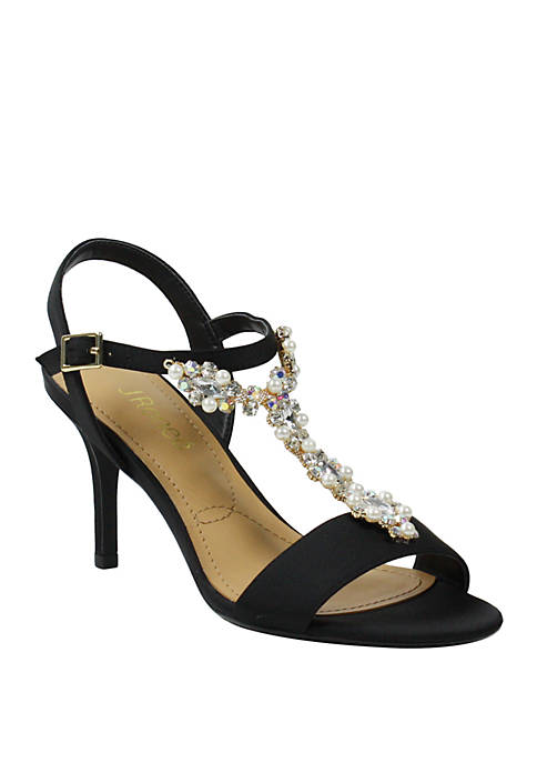 J Reneé Michalla T Strap Pumps