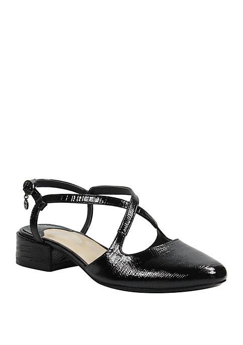 Petara Low Block Heel Sandals