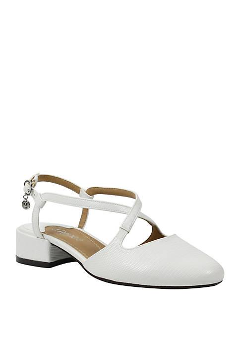 J Reneé Petara Low Block Heel Shoes