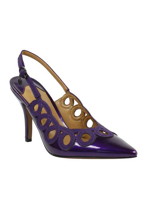 J Reneé Reghina Sling Back Heels