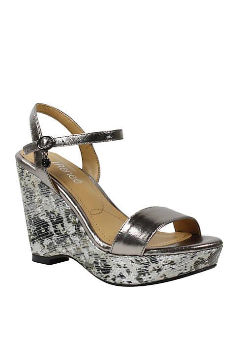 Sharbel Platform Wedge Sandals