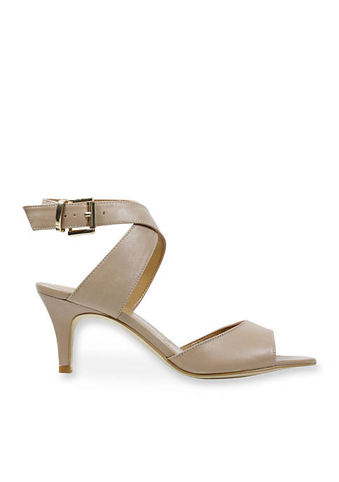 J Reneé Soncino Criss Cross Ankle Strap Mid