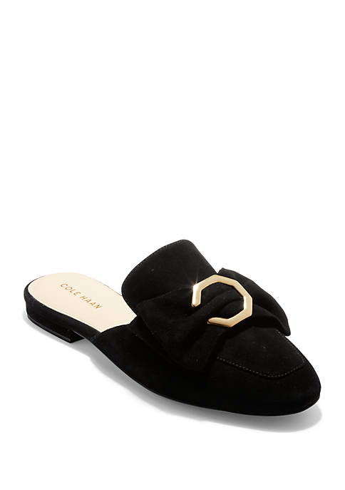 Cole Haan Leela Bow Loafer Mule