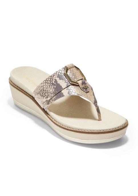 Cole Haan OriginalGrand Flatform Thong Sandals