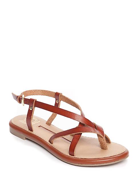 Jillie Strappy Flat Sandal