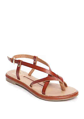 b23b48b95 New Directions® Jillie Strappy Flat Sandal ...