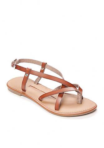 New Directions® Juliana Strappy Flat Sandal 6uichn