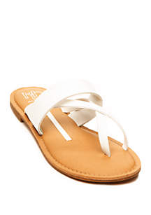 New Directions® Telsa Toe Thong Sandal
