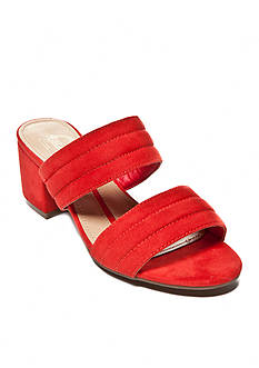 New Directions® Abigail Double Bind Slide Sandals