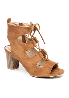 New Directions® Hailey Ghillie Lace Up Sandals