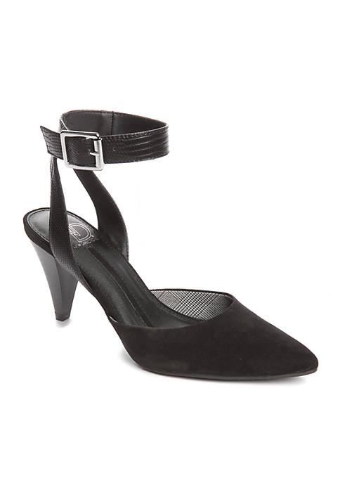 New Directions® Zoey Cone High Ankle Strap Pump