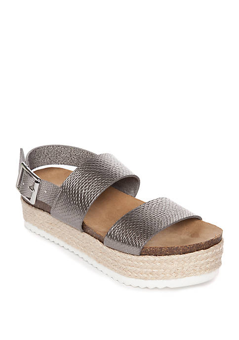 New Directions® Lauren Flatform Sling Sandals
