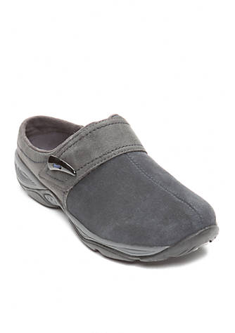 Shipping Outlet Store Online Easy Spirit Eliana Clog(Women's) -Black/Black Suede Clearance Wiki Discount Looking For Clearance Order zi0Q7euir