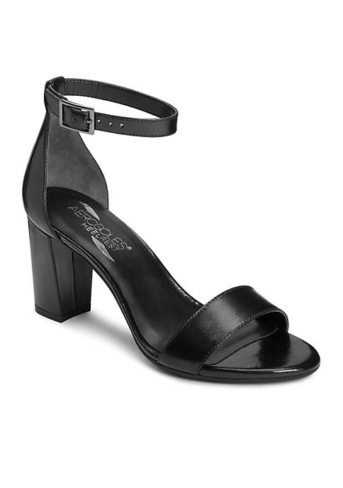 AEROSOLES® Bird Of Paradise Block Heel Sandal