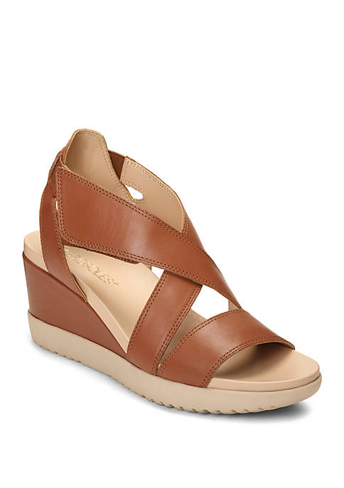 AEROSOLES® Bloom Crisscross Wedge Sandals
