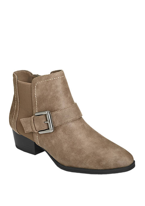 Crossout Ankle Booties