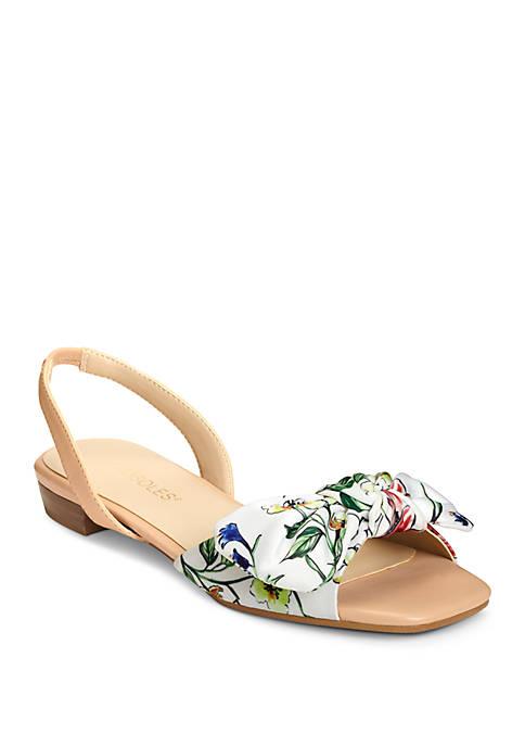 AEROSOLES® Down Time Denim Sandals