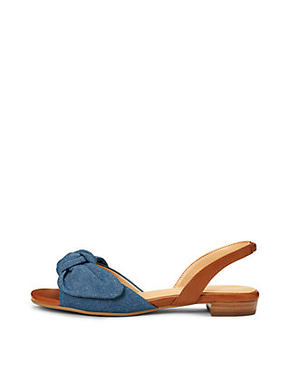 5b3e5d8b3c14 AEROSOLES® Down Time Denim Sandals AEROSOLES® Down Time Denim Sandals ...