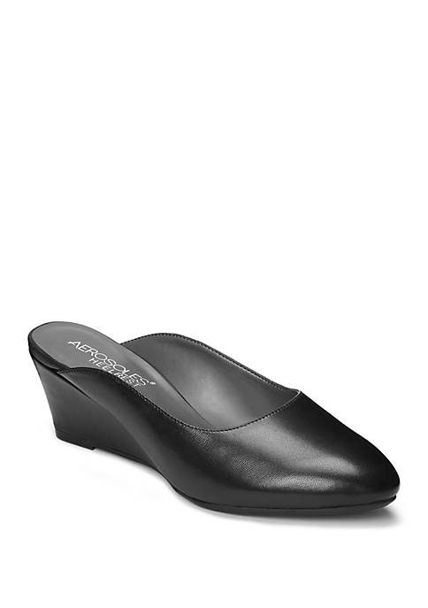 AEROSOLES® Encircle Wedge Mules