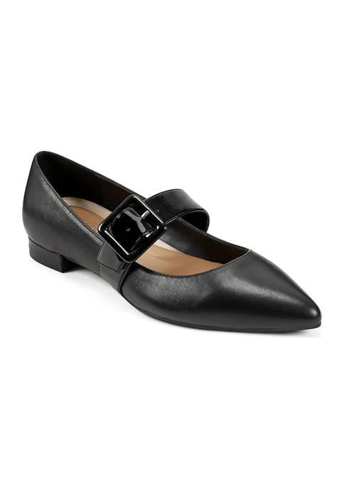AEROSOLES® Final Score Pointed Toe Flat Shoes