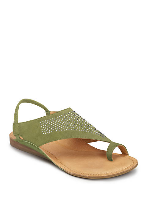 AEROSOLES® Handbook Embellished Sandals