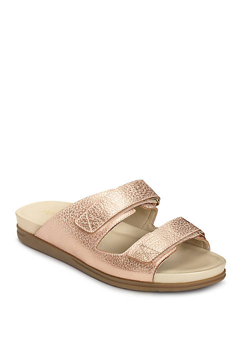 AEROSOLES® Happy Hour Double Strap Sandals