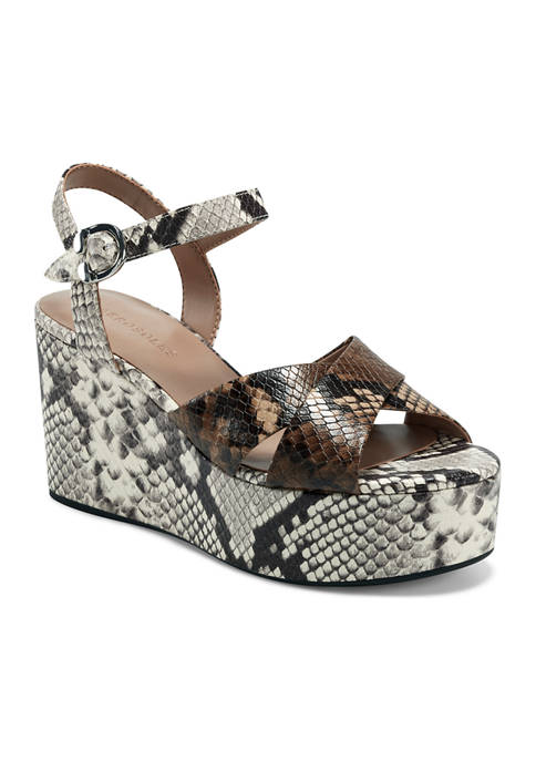 AEROSOLES® Haylee Platform Wedge Sandals