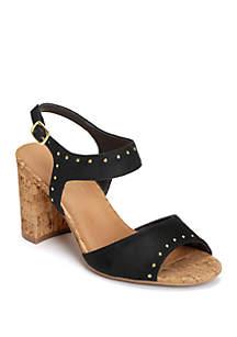 AEROSOLES® High Point Cork Covered Dress Sandals