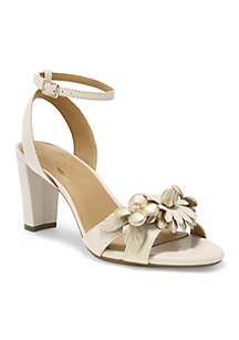 Hit The Road Flower Barely There Sandal