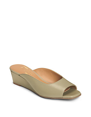 b3d240dcb37b6 AEROSOLES® Magnet Tailored Peep Toe Wedge Sandals | belk