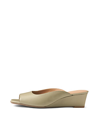 22a35d5c3a9c AEROSOLES® Magnet Tailored Peep Toe Wedge Sandals