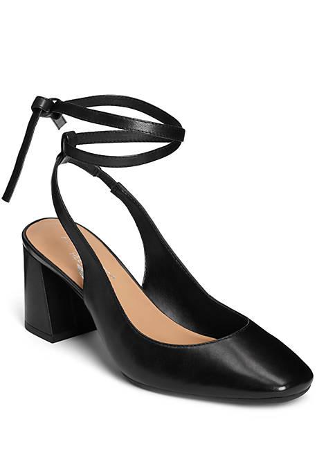 AEROSOLES® Northward Double Wrap Ankle Strap Heels