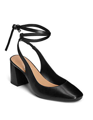 6a1fc0717ca Northward Double Wrap Ankle Strap Heels