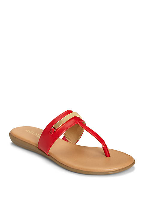 AEROSOLES® On the Chlock Thong Sandals