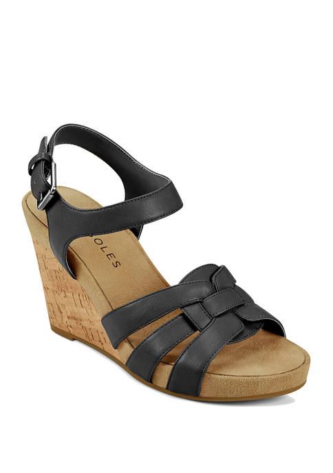 AEROSOLES® Pennsville Platform Sandals