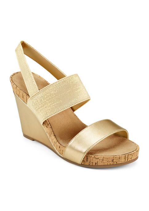 AEROSOLES® Plymouth Wedge Sandals