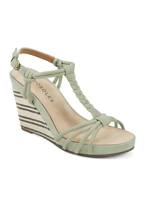 AEROSOLES® Port Chester Wedge Sandals
