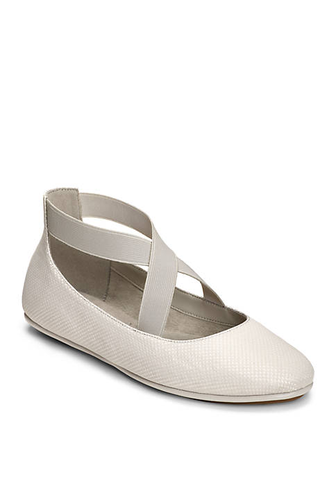 AEROSOLES® Saturday Criss Cross Strap Ballet Flats