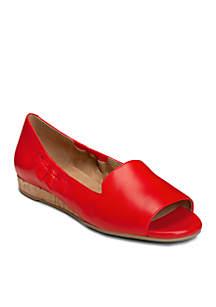 Tidbit Open Toe Loafer