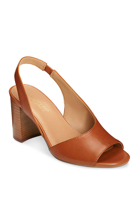 AEROSOLES® Up High Curve Slingback Dress Sandals