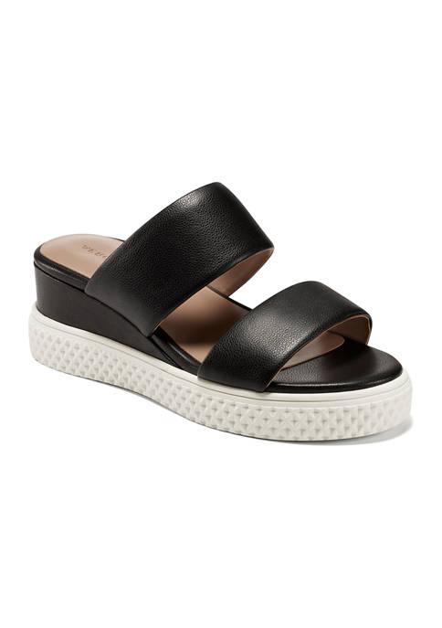 Zeff Wedge Sandals
