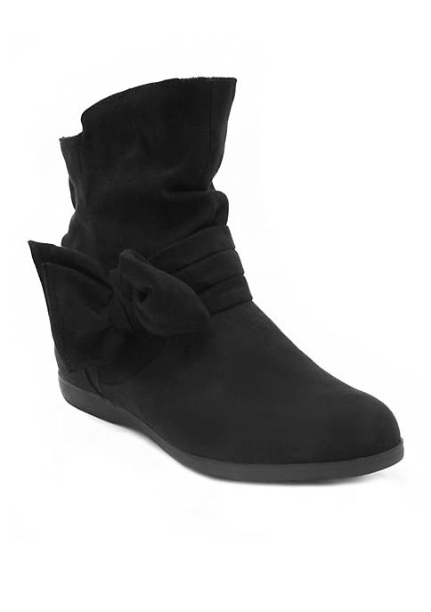 Rampage Basha Microsuede Bootie with Bow