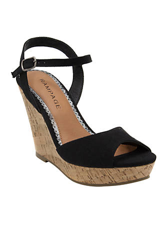 Rampage Crissy Casual Cork Wedge O2YTbL