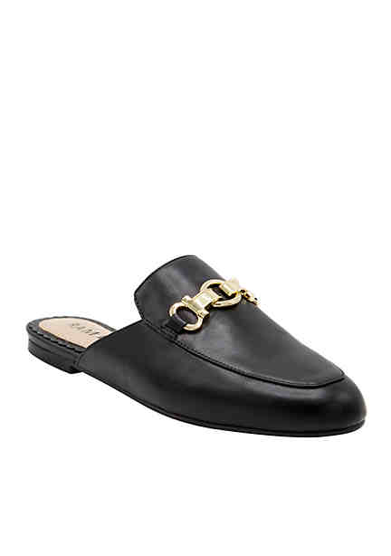 Rampage Women Dacey Mule Black Smooth UGULTOX